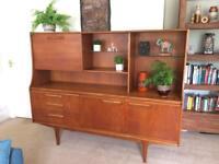Vintage retro teak sideboard unit