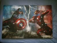Captain America Civil War A2 Canvas