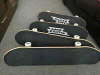 4 skate boards