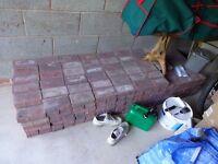 Block paving bricks New around 380 bricks