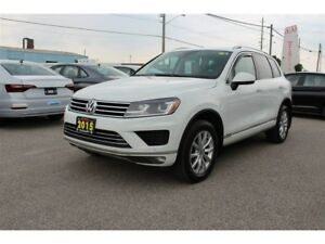2015 Volkswagen Touareg TDI Sportline - NEW TIRES AND BRAKES - O