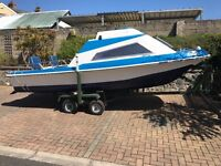 17.5ft Dory boat