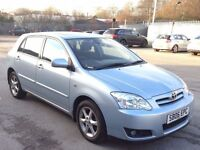 TOYOTA COROLLA 1.4 T SPIRIT 5DR,HPI CLEAR,1 OWNER,1 YEAR M.O.T,2KEYS,SUNROOF,CLIMATE,ALLOYS,A/C,
