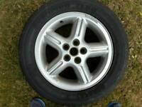 Land rover discovery series 2 alloys