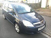 2008 Vauxhall Zafira 1.6L, 7 Seater, MOT till July 2017, 84000 Miles, Low Mileage ***£1699***