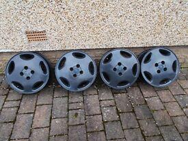 Cavalier, Cavvy, Cav Slabs - 4x100 Alloy wheels