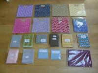 First selection of cotton quilting fabrics in various colours and patterns.