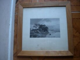 A PENCIL DRAWING BY JOHN SELL COTMAN 24X24 INCHES