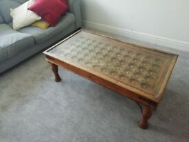 Antique original Arabian coffee table