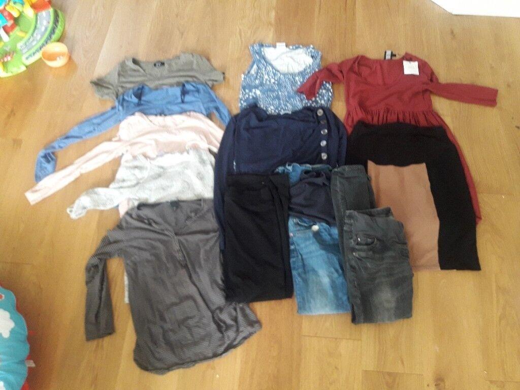 Maternity Clothes bundle size 8/10
