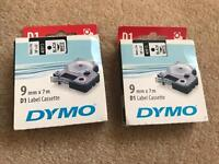 Dymo machine plus label cassette ( new)