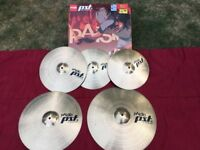 Paiste PST5 Cymbal Set - 20/18/16/14 Hats - Over £300 New