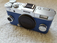 SWAP / TRADE / Sell Pentax Q-S1 Mirrorless digital Camera Kit for Guitar or Melodeon