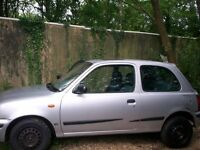 NISSAN MICRA TAX & MOTd,S/HISTORY,ONE LADY OWNER FROM NEW,DRIVES LOVELY, PAS, PREV MOTs,NO FAULTS