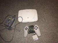 PlayStation 1 Slimline edition.
