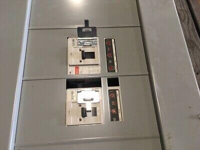 Eaton Pow-r-line Prl4 Panelboard W2-400 Amp Breakers