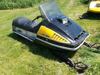 Cheap Sled! Skidoo TNT!!!  Runs great!