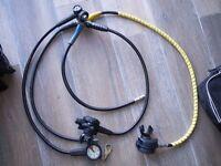 ScubaPro Mk25 S600 diving regulator with R380 octopus