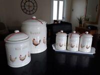 Dunelm Henrietta kitchen accessories