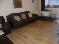 2 Bedroom fully decorated flat in exchange for a 3 bedroom property preferably with a garden