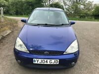 FORD FOUCS ST 170 PURPLE BLUE 2004 RE MAPED