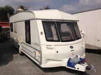 5 berth abi nightstar caravan with full awning