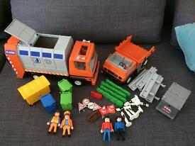 Playmobil bundle bin lorry
