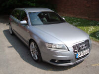 2008 AUDI A6 2.7 TDI V6 S LINE AVANT ONLY 73K FROM NEW! 2 OWNERS.NOT A3 A4 BMW