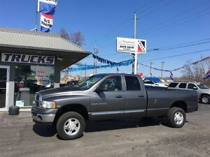 2004 Dodge Ram 2500 CREW CAB 4X4 LONG BOX !!