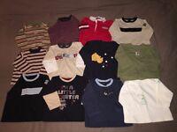 Baby boy clothes bundle, age 6-9 months : 38 items