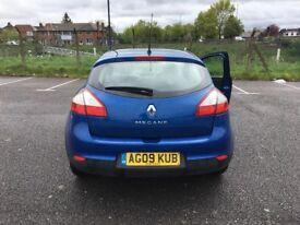 Renault megane 1.6 petrol ,Low mileage 76000