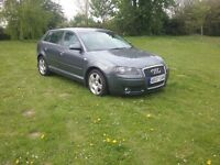 Audi a3 2.0 tdi sport 6 speed 5 hatch 2007 07 reg car still in daily use