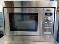 NEFFH53W50N3GB Built-in Solo Microwave - Stainless Steel