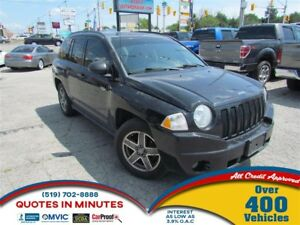 2009 Jeep Compass NORTH EDITION | 4X4 | MANUAL