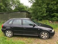 Audi A3 1.8 SE 5 door, 2001, FSH, Only 2 Owners, Owned for 5 years. Drives Well.