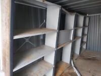 4 BAYS OF SHELVING / RACKING IN GOOD CONDITION