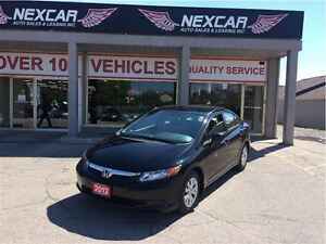 2012 Honda Civic LX AUT0 A/C CRUISE ONLY 59K