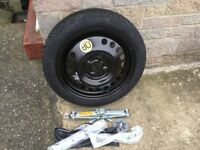 Nissan Note Spare Wheel Kit