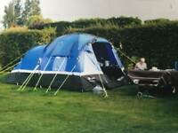 4 berth tent and trailer with kitchen