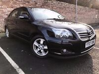 TOYOTA AVENSIS 2.2 D-4D T3-X 5dr HATCHABACK, DIESEL (not mondeo, c5, 407, x-type)