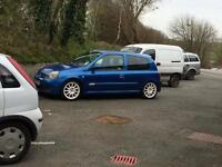 Clio 172 cup may swap for bigger