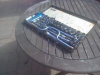 Complete socket set in brand new condition.