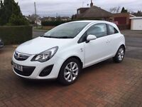 Vauxhall Corsa 1.2l Excite. Low Mileage 1 Owner from New.
