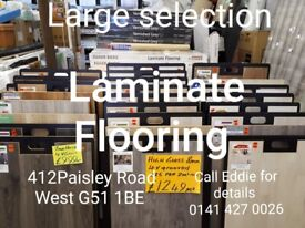 LAMINATE FLOORING VARIETY OF GREYS IN STOCK FROM £6.99 PER m2