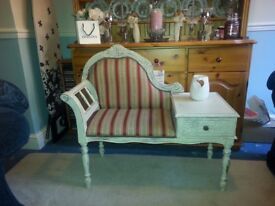 Shabby chic telephone table