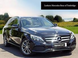 Mercedes-Benz C Class C220 BLUETEC SPORT (black) 2014-09-29