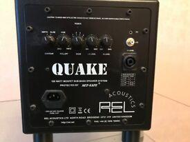 Quake 100W Mosfet Sub-Base speaker