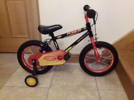 Two children's bikes and one trike for sale, £20 each or £55 for all three.