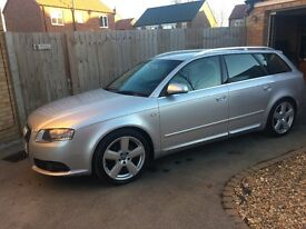Audi A4 sline tdi estate