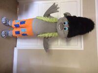 UK Seller brand new Adult Branch Troll fancy dress mascot
